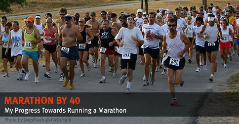 Marathon by 40